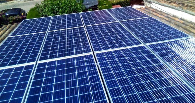 Placas Solares villa